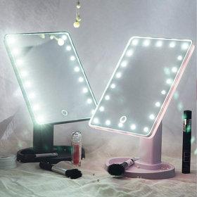 LED 조명거울 화장대 메이크업 거울  /22LED거울+10X줌