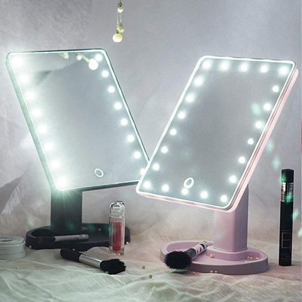 LED 조명거울 화장대 메이크업 거울  /22LED거울+10X줌 상품이미지