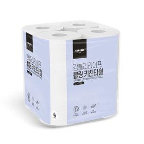 강블리라이프 블링 키친타올 4롤 150매 1팩
