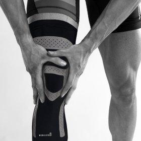 (메디앤스토리) 테이핑 무릎 관절 스포츠 보호대 S