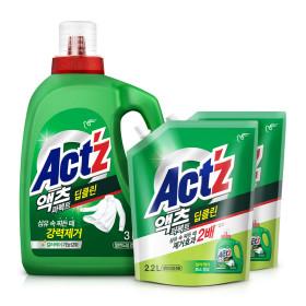 액체세제 액츠퍼펙트 2.2L 딥클린 3개