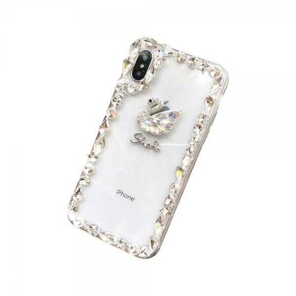 갤럭시S10E 스완 다이아몬드 커버 젤리 케이스 P165 상품이미지