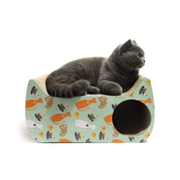 봉봉펫닷컴 고양이 스크래쳐 미니 하우스 상품이미지