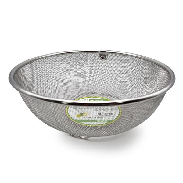SM 키친아트 원형바구니 특대 / 채반 스테인레스 상품이미지