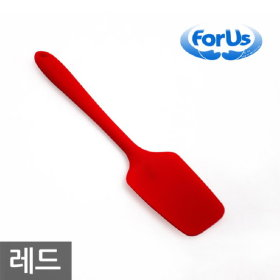 SM 포어스 실리콘 볶음주걱 레드 / 조리도구 키친툴