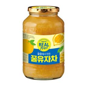 리얼 유자차 1kg