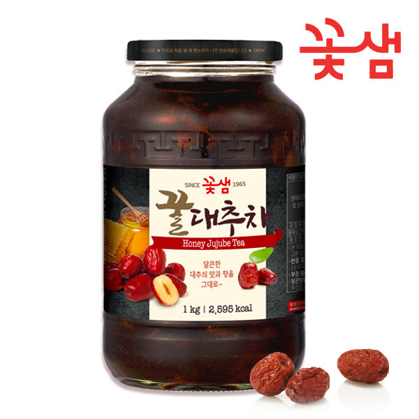 꽃샘식품 꿀대추차 1kg 병 /전통차/대추차 상품이미지