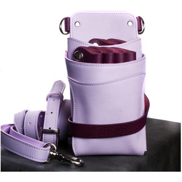 6정용 미듐퍼플 투톤 TW75-Purple미용가위집 가위가방 상품이미지