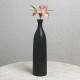 블랙 인테리어 도자기 꽃병 화병 안방 거실 장식 꽃병