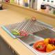 와이드롤주방선반10구 주방용품 씽크대 식기건조