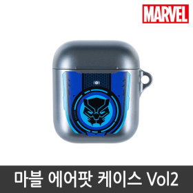 MARVEL/Official Product/Airpods/Case/1/2Nd Gen/Black Panther