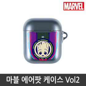 MARVEL/Official Product/Airpods/Case/1/2Nd Gen/GROOT