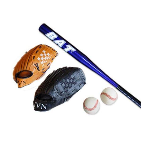 키즈+성인세트D(글러브(흑32+브26)+배트71+야구공2 상품이미지