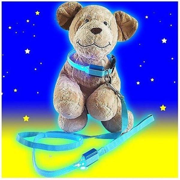 펫토이 LED목줄 리드줄 임의배송  강아지 애견 개 상품이미지