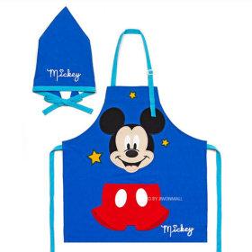 Mickey Mouse/Applique/Blue/Children/Kids