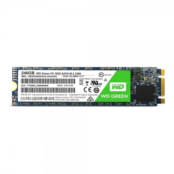 WD Green M.2 2280 (240GB) 상품이미지