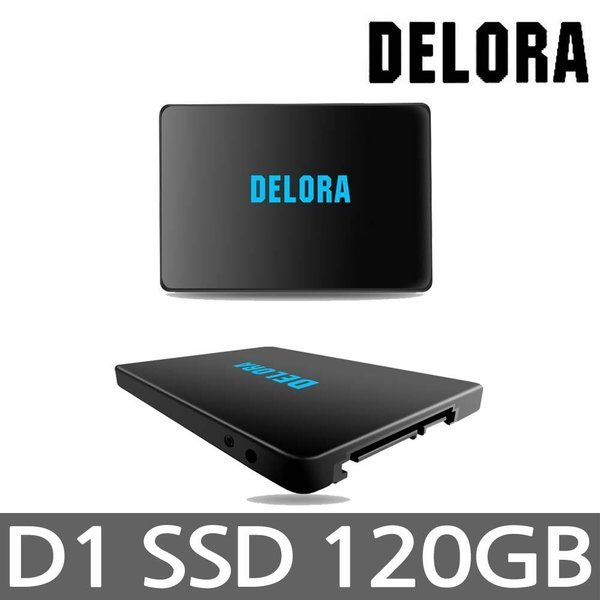 DELORA D1 120GB TLC 최대 560M 360M AS3년 상품이미지