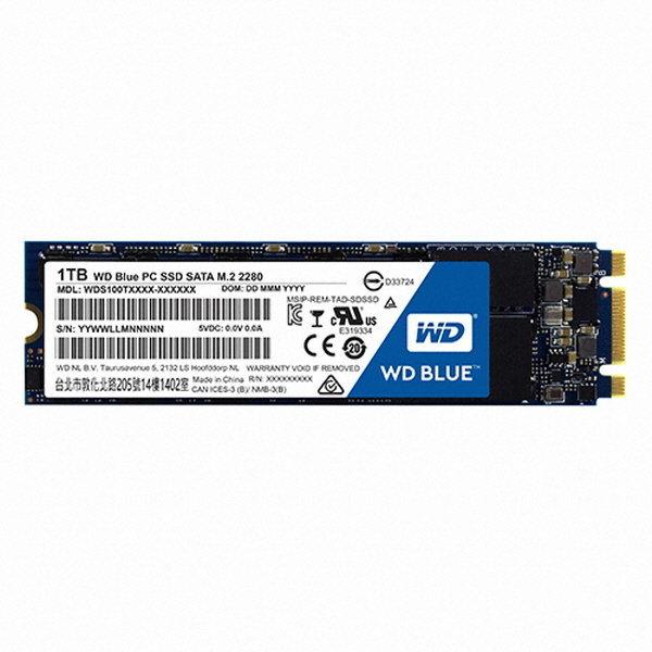 WD Blue M.2 2280  1TB 상품이미지