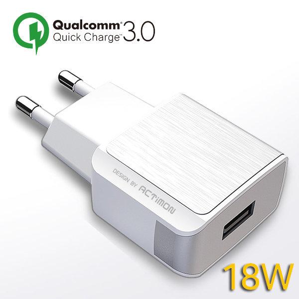 ACTIMON QC3.0/3A 18W 가정용 USB 충전기/5V/9V/12V 상품이미지