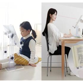 어린이 북스탠드 유아 투명독서대 독서책상 HD601 좌식