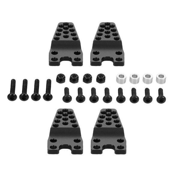 4x Axial SCX10 1/10 RC카 향상 부속 완충기 산 블랙 상품이미지
