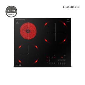 본사직영)쿠쿠 CIHR-FL305FB 3구하이브리드전기레인지