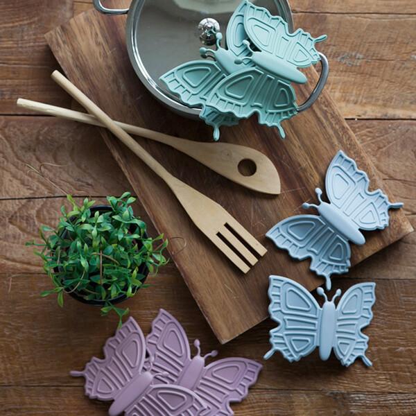 (현대Hmall)파스텔 실리콘 나비 냄비손잡이 2Pset (3color) 상품이미지