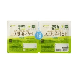 풀무원 고소한 유기농 두부(찌개용+?
