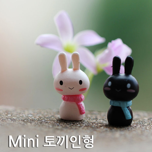 Mini 스카프토끼 인형(5개)/스카프토끼 인형/장식인형 상품이미지