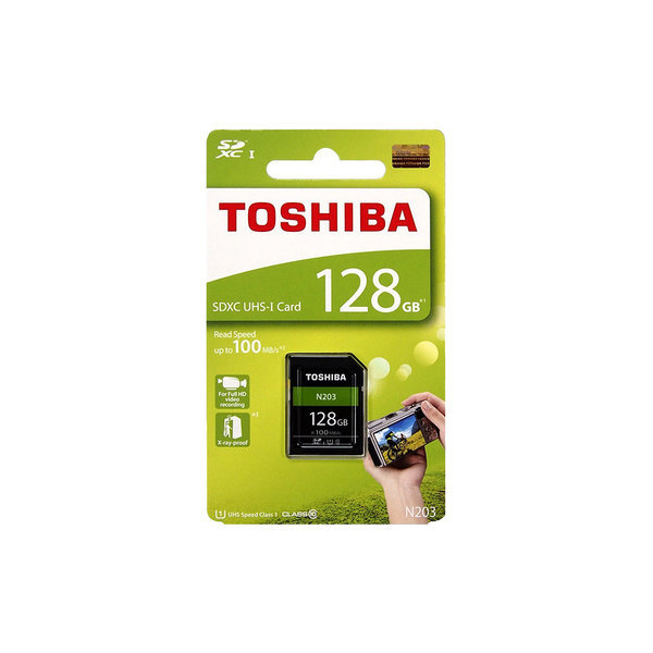 도시바 128GB N203 SDXC UHS - I 메모리 카드 상품이미지