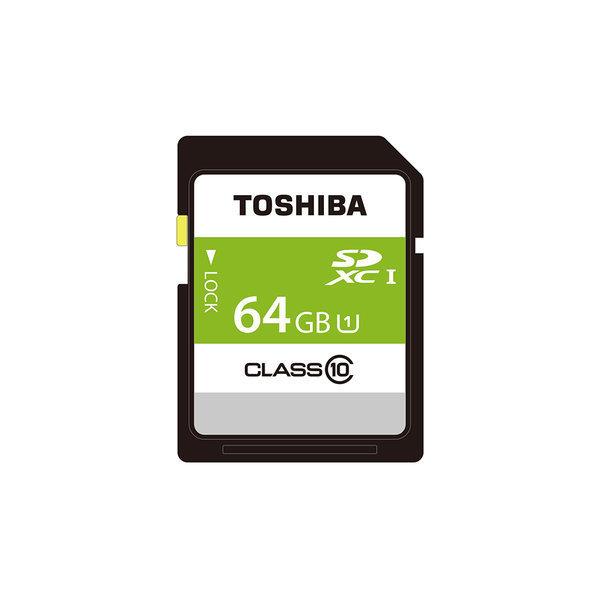 도시바 SDXC 카드 64GB Class10 UHS-I THN-NW64G4R8 상품이미지