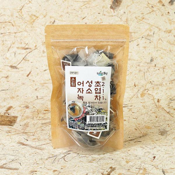 유기농 어성초 자소엽 녹차 삼각티백 32g 발효차 황차 상품이미지