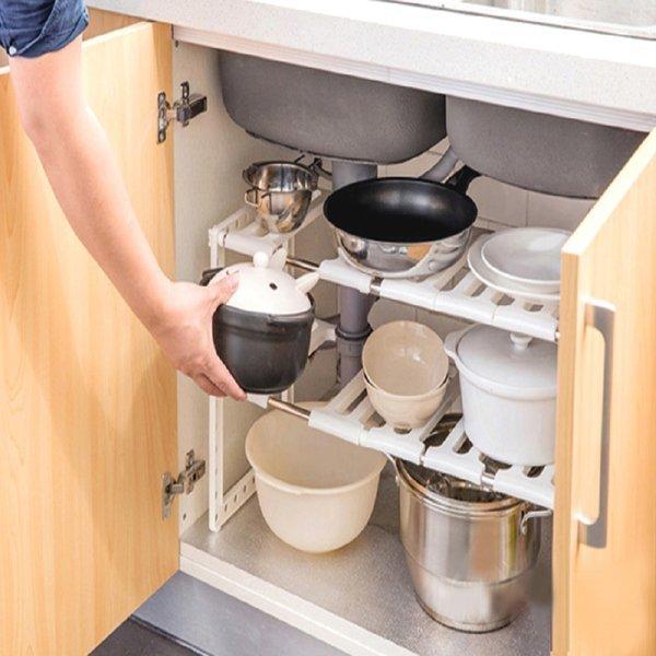 씽크대선반 아이디어생활용품 주방용품 2단씽크선반1개 상품이미지