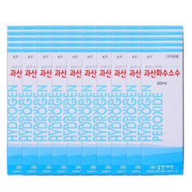 삼현제약 과산화수소 60ml 50개/상처/피부/소독/알콜