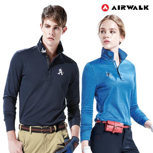 에어워크 남자 골프베이직 티셔츠 긴팔 카라티 모음전 상품이미지