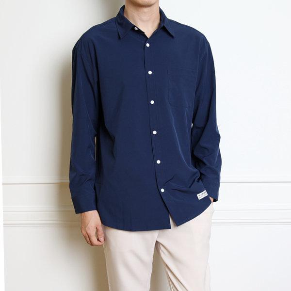남자 구김없는오버핏 링클프리셔츠남방/빅사이즈/정장 상품이미지