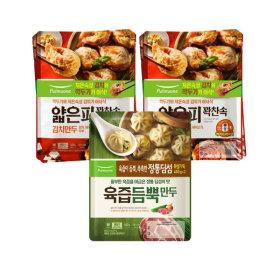얇은피/육즙만두 6봉 (김치4개+육즙2개)