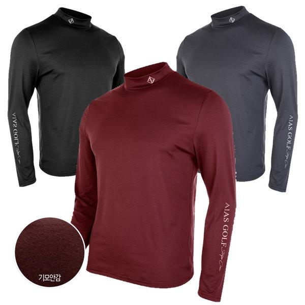 남성/남자/겨울/기모/목폴라/폴라/목/긴팔/티셔츠 티 상품이미지