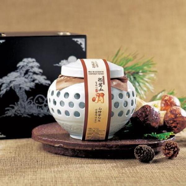 명가어찬  산꿀자연송이 도자기(600g 2) 상품이미지