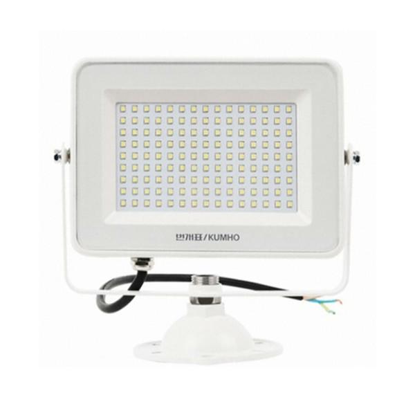 금호전기 번개표 LED 투광기 투광등 방수 50W 전구색 상품이미지