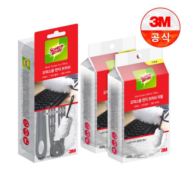 (현대Hmall) 3M 뉴 사무실용 먼지떨이 핸들+리필 5입 상품이미지