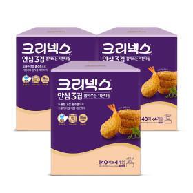 도톰한 뽑아쓰는키친타올 140매4개x3팩/화장지 /키친