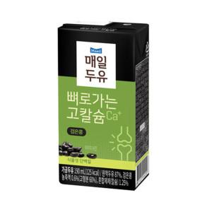 [뼈로가는칼슘두유]검은콩 190ml 72팩/두유
