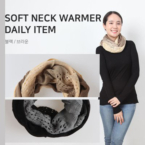 넥워머 머플러 목도리 캐시미어 여성스카프 스카프 상품이미지