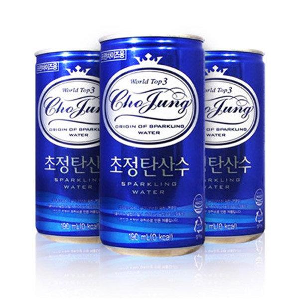 일화 초정탄산수 플레인 190ml 1박스 30개 /음료 상품이미지