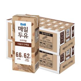 매일두유 식이섬유 190mL 48팩+황민현 포토카드 2개