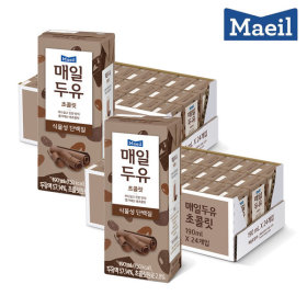 매일두유 초콜릿 190mL 48팩+황민현 포토카드 2개