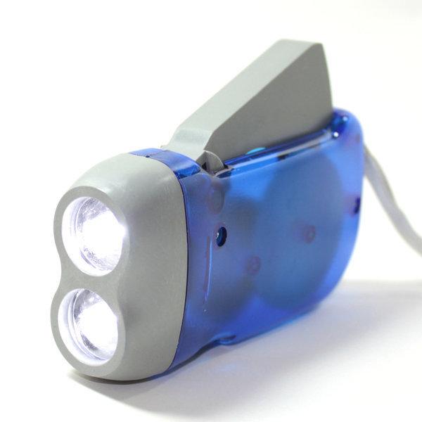 자가발전 후레쉬 손전등 LED랜턴 생존배낭용품 상품이미지