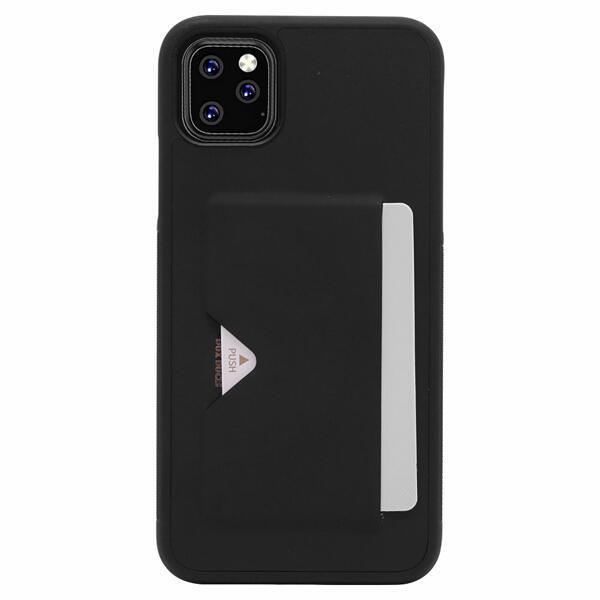 (현대Hmall)아이폰11 카드슬롯 범퍼 심플 가죽 케이스 P301 상품이미지