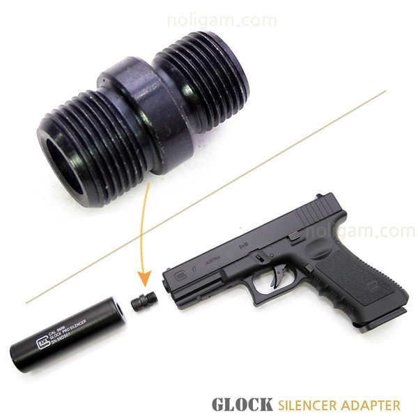 adapter 글록 소음기 메탈 어댑터/ 14mm역나사 용 상품이미지
